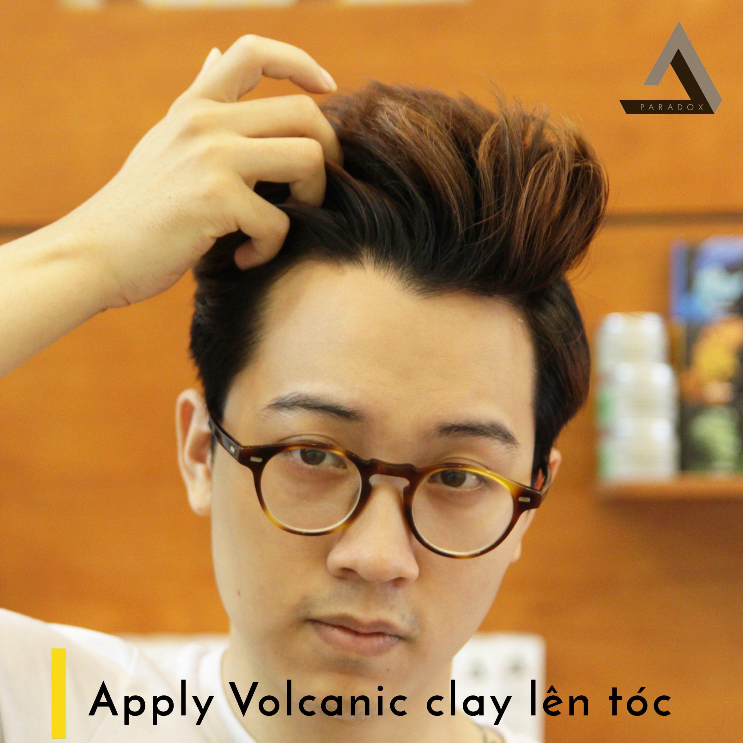 Apply Volcanic clay len toc