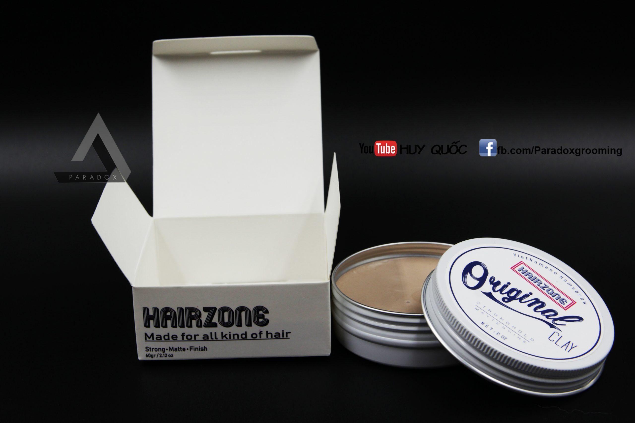 sáp vuốt tóc ORIGINAL CLAY paradoxgrooming